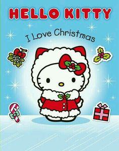 I Love Christmas Sticker Activity Book (Hello Kitty) by Sanrio Hello Kitty, Hello Kitty Art, Hello Kitty Pictures, Hello Kitty Items, Kawaii, Hallo Kitty, Hello Kitty Christmas, Christmas Unicorn, Hello My Love