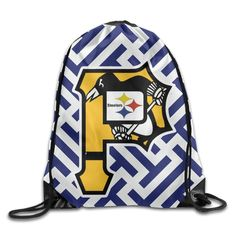 DHome Pittsburgh Logo Unisex Storage Backpack -- Awesome products selected by Anna Churchill