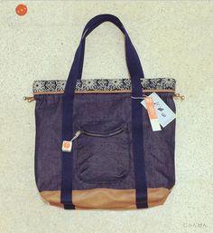 Ethno - Drawstring Tote Bag