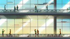 Safegate Illustrations | Abduzeedo Design Inspiration