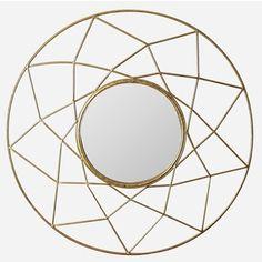 Safavieh Gold Sun Burst Mirror - Overstock Shopping - Great Deals on Safavieh Mirrors