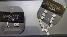 Paris and E-mail earpieces plus a cute flowery bracelet. Heart Charm, Dog Tag Necklace, Gems, Display, Paris, Jewels, Stylish, Bracelets, Accessories