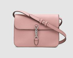 What do you think? I found this item on GUCCI STYLE.  Jackie soft leather flap shoulder bag