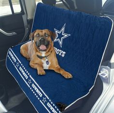 NFL CAR SEAT COVER. - Pet Car Seat Cover. - Dog Seat Cover. - Waterproof Bench Seat Cover. - Football Car Seat. - AVAILABLE IN 32 NFL TEAMS!. - Premium Pet Seat Cover. Dallas Cowboys