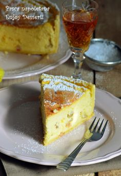 Pasca napoletana – pasca in aluat de tarta Cheesecakes, French Toast, Sweets, Cookies, Breakfast, Desserts, Search, Food, Romanian Recipes