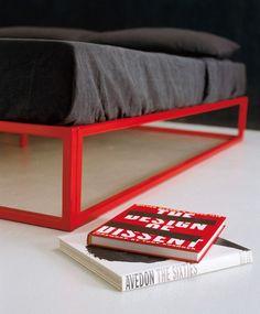 Steel double bed ASHA BASIC | Double bed by XAM