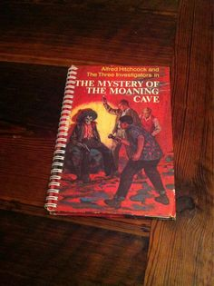 The Mystery of the Moaning Cave Blank Book by Merrittorious, $10.00
