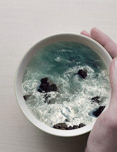 Coffee Mug Manipulations  -  2015  -  Victoria Siemer  - https://www.behance.net/gallery/25817787/Coffee-Cup-Manipulations
