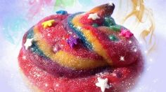 disco-sparkly unicorn poop cookies  If unicorns fart rainbows, it only makes sense that they would poop out delicious, multicolored baked by...