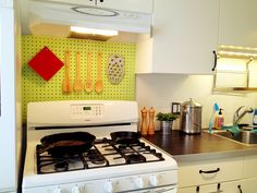Merveilleux Pegboard For Kitchen In Spring Time Green By Glidden