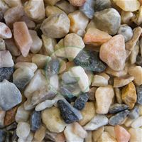 Flamingo Gravel 20mm- Offers a beautiful rose pink design. Ideal for any garden landscape
