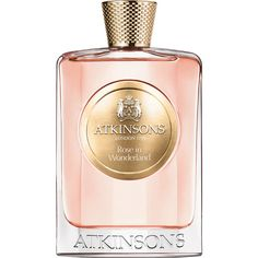 Atkinsons Women's Rose in Wonderland ($225) ❤ liked on Polyvore featuring beauty products, fragrance, perfume, beauty, makeup, accessories, filler, no color, eau de parfum perfume and atkinsons