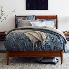 Mid-Century Bed - Acorn #westelm