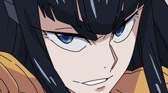 Vectored screencap of the character Satsuki Kiryuin from Kill la Kill.