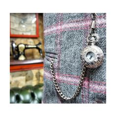The classic Mid Grey.  Shown with Tweed waistcoat & Tie #wedding #menswear #groom #brideandgroom