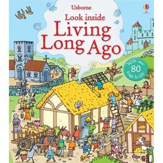 """Look inside living long ago"" at Usborne Children's Books Medieval Pattern, Inside Castles, Age, Pattern Library, Medieval Castle, History Books, Live Long, Paperback Books, Activities"