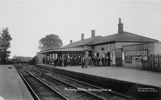 shoeburyness railway station c 1914..17