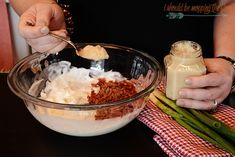 This Cowboy Dip is the perfect game day party food for your gathering. It has a fun kick to it that makes it irresistible. It's perfect with cut veggies or chips. Dip Recipes, Great Recipes, Favorite Recipes, Cowboy Dip, Homemade Ranch Dip, Mary Recipe, Perfect Game, Appetisers, Dips