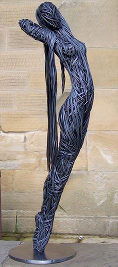 Richard Stainthorp: des sculptures en fils métalliques d'une incroyable beauté !