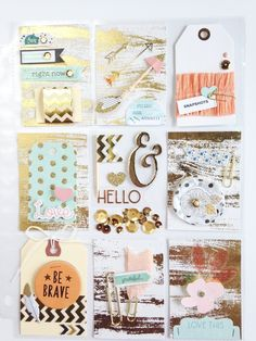 Pocket Letter, by Katherine Maynard using the Momento collection from…
