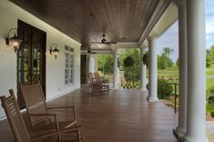 Southern Charm: Low Country Porch