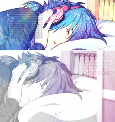 DRAMAtical murder, so far it's been a pretty good anime.