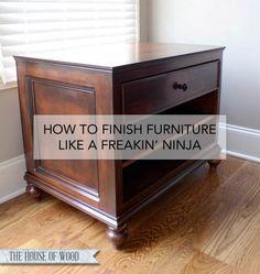 How to glaze furniture like a pro | www.jenwoodhouse.com/blog