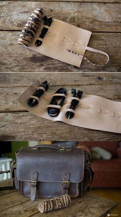 DIY Kabelrolle aus Kork selbermachen - praktische DIY Geschenke für Männer - Kreativfieber