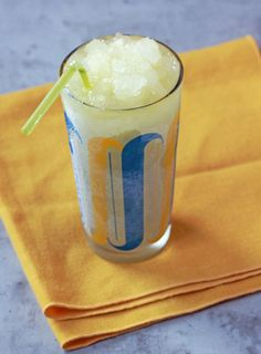 Pisco Sour Slushy: Peru's favorite drink takes surprisingly well to a frozen form.