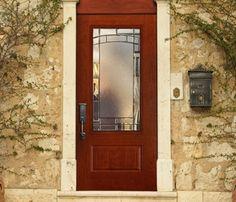 Masonite Door with Element Glass. This has been a very popular door for us!
