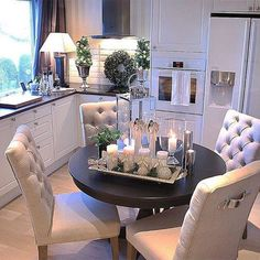Love The Chair Pulls Kitchen Decor Dining White Appliances Mixed Feelings