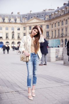 justthedesign:   Negin Mirsalehi is wearing a... Fashion Tumblr | Street Wear, & Outfits