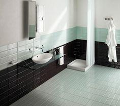 badezimmer mit zeitgenösischen badfliesen einrichten
