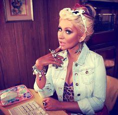 Christina Aguilera<3 so pretty