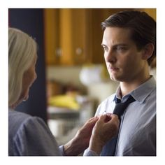 Tobey Maguire and Rosemary Harris in Spider-Man 3
