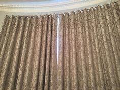 Wave curtain add a nice modern look to a traditional home. Wave Curtains, Made To Measure Curtains, Traditional House, Soft Furnishings, This Is Us, Nice, Modern, Handmade, Home Decor