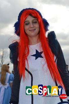 SF-A2 Miki Cosplay from Vocaloid in LUCCA COMICS AND GAMES 2012 Italy