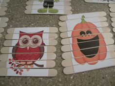 My friend pinned this on Pinterest the other day:  And I thought, hey that would make a super cute toddler activity! And, how fun would it b...