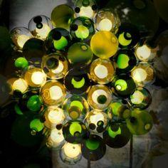Dezeen Screen: Bocci 28 Series chandelier at Spazio Rosanna Orlandi
