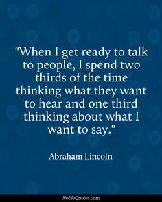 Speech Quotes | http://noblequotes.com/