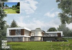 Tony Holt Design : Self build remodel of existing house in Hampshire