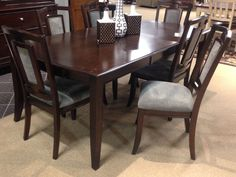 Martini Studio Dining Room Extension Table The Dark Brown Burnished Finish Of