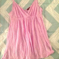 express flowy tank  Only worn once. Lilac purple. Would look great on its own or under a cardigan.  Express Tops Tank Tops