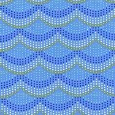 Patty Sloniger - Into The Deep - Mermaid Scales in Periwinkle