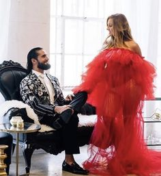 Becky Wwe, Rebecca Quin, Becky Lynch, Seth Rollins, Kimono Top, Maternity, Tulle, Photoshoot, Skirts