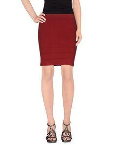 CLASS ROBERTO CAVALLI Women's Mini skirt Maroon 12 US