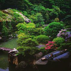 Chishaku in. Temple stay in Kyoko