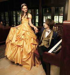 Conheça os vestidos de noiva inspirados nas princesas da Disney | As coisas mais criativas do mundo