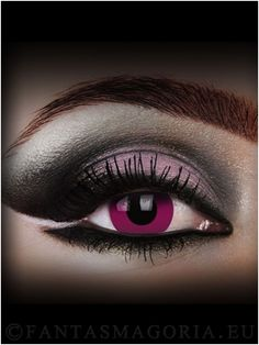 #Purple contact lenses~ Change your eyes at: http://www.fantasmagoria.eu/accessories/cosmetics-makeup/contact-lenses #fancy contacts #crazy lenzes