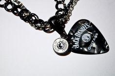 Perfect jack Daniels necklace